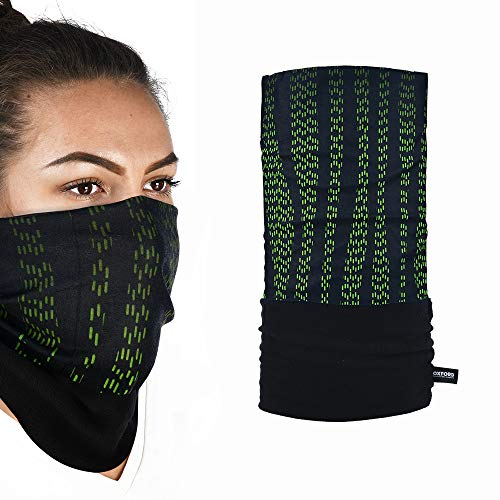 Oxford Products NW420 Polar Fleece Snug Face Covering HeadNeck Loop Green One Size