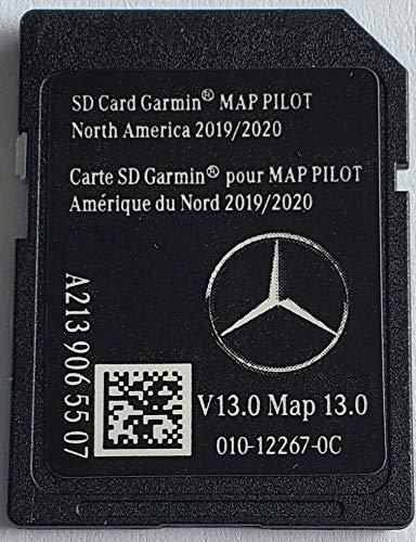 Mercedes Benz Navigation SD Card/C E GLC Class/Garmin Pilot A2139065507 2020 GPS V13.0 map 13.0