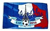 Fahne / Flagge EM 2016 Frankreich 90 x 150 cm