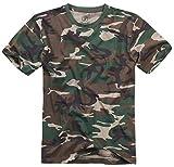 Brandit T-Shirt, Woodland 5XL