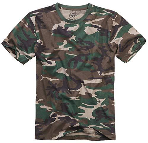 Brandit T-Shirt, Woodland XL