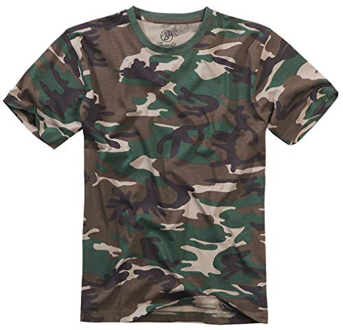 Brandit T-Shirt, Woodland 6XL