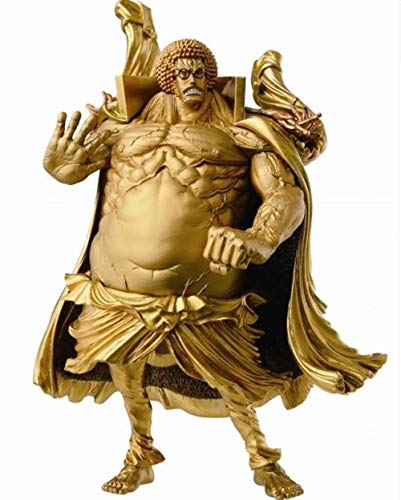 ZJZNB One Piece Form King Top Battle 3 Buddha Warring States Zeitraum Gold Edition PVC Anime Figur Modell Spielzeug Figuren Statue Dekoration