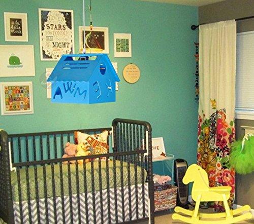 owow simple moderne salle pour enfants merveilleux et maison fraîche Art du bois Plafonnier pour les garçons ou filles séjour Décoration plein d'imagination, 210 * 240 * 200 mm