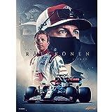 Leinwand Poster Bilder Kimi Räikkönen Iceman F1 Poster