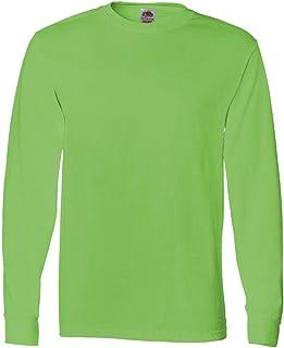 Fruit of the Loom Adult 5 oz. Long-Sleeve T-Shirt, Kiwi, XL