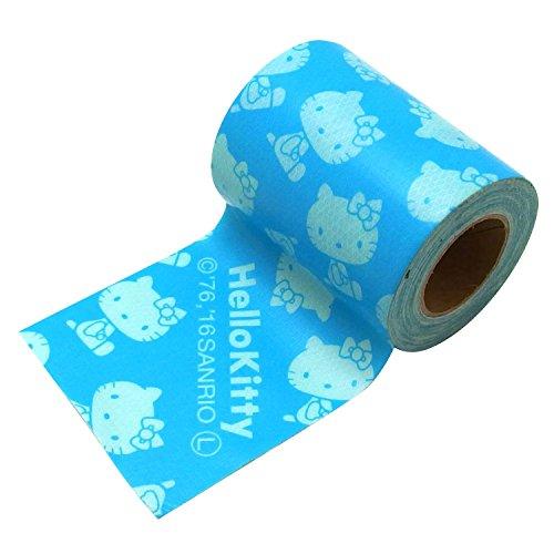 古藤工業 Monf gbk ガムテープ 布テープ サンリオ キティ ブルー 幅50mm×長さ3m