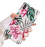 Dancila Coque iPhone 7 Plus Housse Etui iPhone 6 Plus Bling Bling Feuille d'or de Protection Absorption de Choc Silicone Bumper Cover Coque Housse pour iPhone 6/7/ 8 Plus (iPhone 7/8, 2.2)