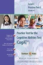 Cognitive Abilities Test CogAT® Multilevel C Book (Grade 4*) - Practice Test 1 (Form 6)
