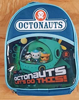 Octonauts Let's Do This Lunch Cooler Bag Box Kit Blue Insulated