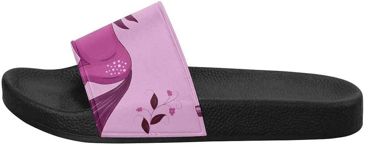 InterestPrint Women's Lightweight Sandals for Indoor