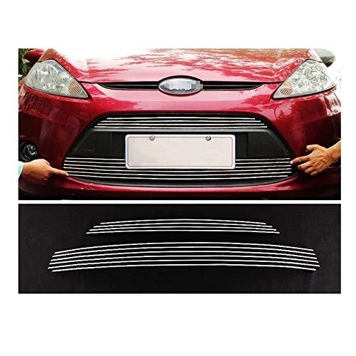 Sport Nier Grille Cover, RVS Sportieve Spoiler voor Ford Fiesta,c2