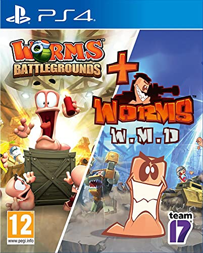 Worms Battlegrounds + Worms WMD