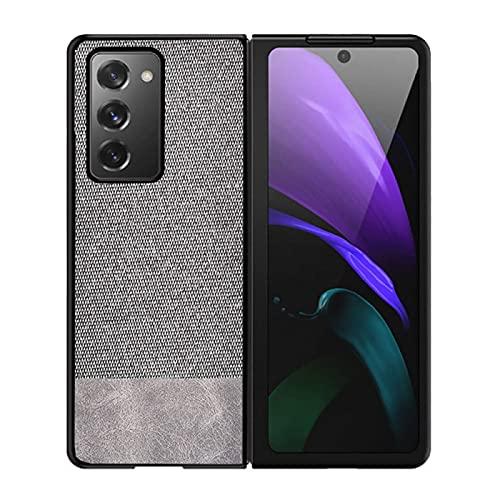 zimisu Adecuado para Samsung Galaxy Z Fold 2 5g plegable teléfono caso, Z Fold 2 fibra de carbono teléfono caso es resistente a caídas