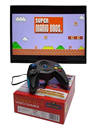 RKgupta Enterprises 99000 Video NES Old Retro Nitendo Style Games in 1 TV Game for Kids