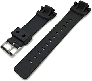 Silicone Watchband for Casio G Shock Replacement Band Strap Watch Accessories GAW 100/GLX/GA 200/150/201/300/310/GAS 100,Black