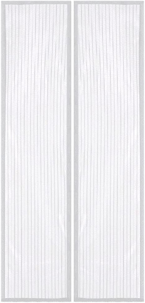 Challenge the lowest price White Hands-Free New Free Shipping Mesh Magnetic Door Screen Curtain