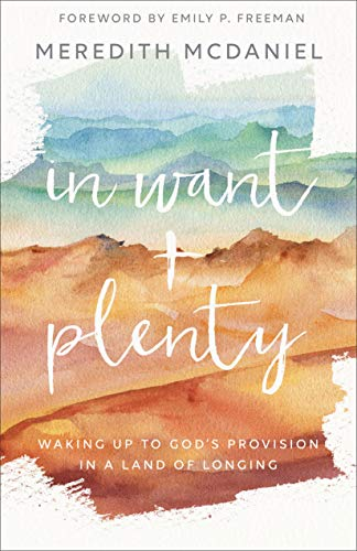 In Want + Plenty: Waking Up to God s Provision in a Land of Longing