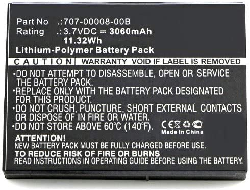 Synergy Digital Equipment Battery Department store with Compatible 707-0 Dallas Mall Trimble