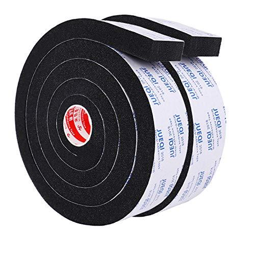 隙間テープ すきまテープ パッキンテープ 防風 防音テープ 気密防水パッキン 雨戸 10mm (幅) x 5mm (厚さ) x 2m (長さ) x 2本