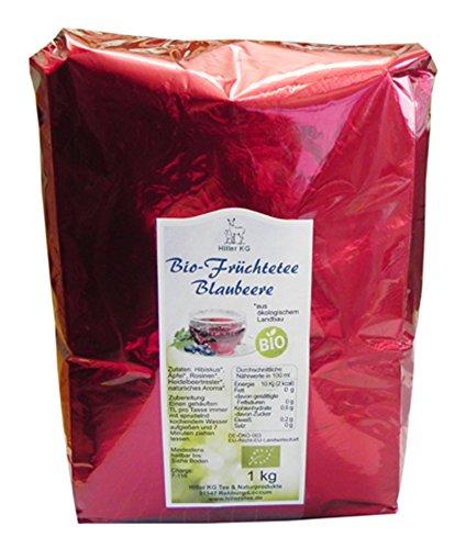 Hiller Bio Früchtetee Blaubeere 1 kg