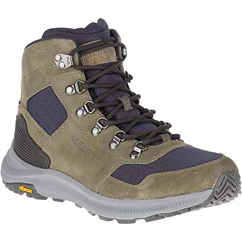 Merrell Ontario 85 Mid Men's Olive Hiking Boots 11.5