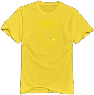KBRSE Nirvana Grunge Band Logo Man's Awesome Teeshirt
