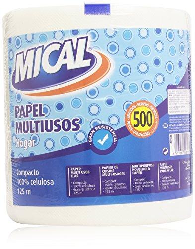 Mical Papel Multiusos para Hogar - 125 m