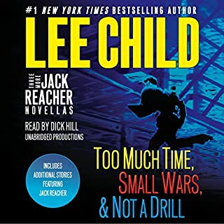 Three More Jack Reacher Novellas cover art