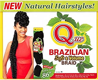 Shake-N-GO Que Brazilian Soft & Volume Braid (1) by Que Products