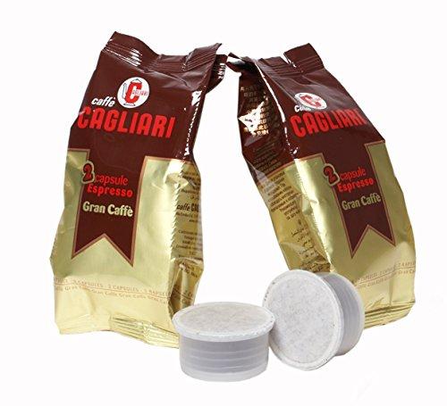 Caffè Cagliari - 100 capsule compatibili Espresso Point - Miscela Gran Caffè