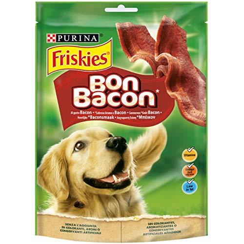 Friskies - Bon Bacon - Alimento Complementario para Perros Adultos - 120 g 🔥