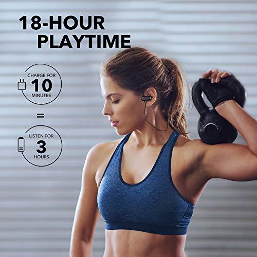 【改善版】AnkerSoundcoreSpiritX(ワイヤレスイヤホンBluetooth5.0)【IP68完全防水防塵規格/SweatGuardテクノロジー/18時間連続再生】スポーツフィットネスランニング