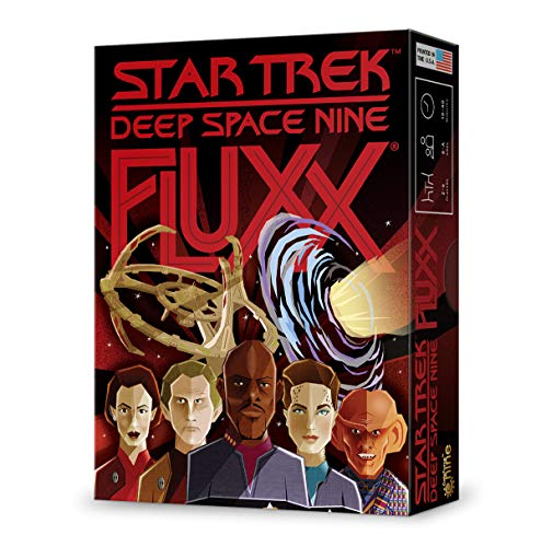 Looney Labs LOO098 Fluxx: Star Trek-Deep Space Nine, colori misti