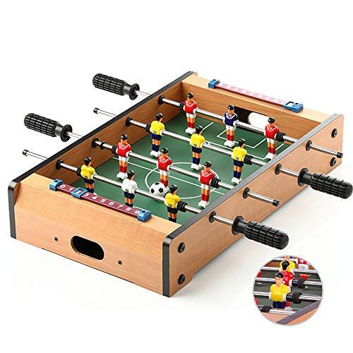Ydq Kinder Tischkicker TischfußBall Glasgow Spielzeug Kugeln Spiel Toy Set FüR Erwachsene Soccer Haus Game Mit BäLle Platte FüR Die Ganze Familie Board Game, 51 X 31 X 9.6 cm