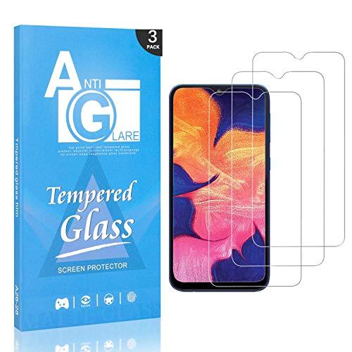 Schutzfolie Displayschutzfolie für Galaxy A50, FCLTech 3 Stück Displayschutzfolie Schutzfolie Folie für Samsung Galaxy A50, 9H Härte/Anti-Kratzer/Blasenfrei