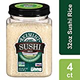 RiceSelect Sushi Rice, 32 Ounce (4 Count) Jars