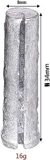 10Pcs Plumbum Golf Plug Weight for Steel Shaft Fit 0.335 0.350 0.355 0.370 12g/14g Diameter 8mm