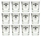 12 Jack Daniels Whisky Tumbler - original Gläser 2cl/4cl geeicht - Set