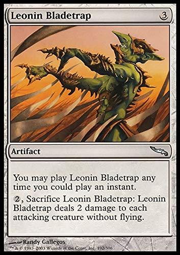 Magic The Gathering - Leonin Bladetrap - Mirrodin