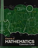 MIDDLE GRADE MATH COMMON CORE COURSE 2 STUDENT EDITION 0133196682 Book Cover