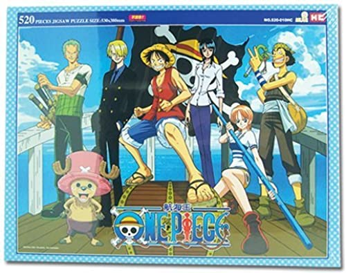 Great Eastern One Piece Group Jigsaw Puzzle (520-Piece) by Great Eastern