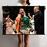 LJA Conor McGregor Dublin UFC Posters MMA Sports 60x40cm