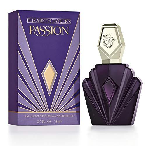 Perfume Cologne   Passion by Elizabeth Taylor Eau De Toilette Spray, Perfume for Women 2.5oz, Gym exercise ab workouts - shap2.com