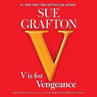 V Is for Vengeance cover art