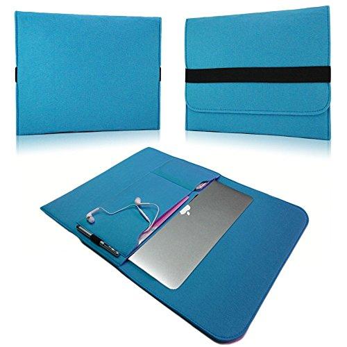 NAUC Laptop Tasche Sleeve Schutztasche Hülle Tablets MacBook Netbook Ultrabook Hülle kompatibel mit Samsung Apple Asus Medion Lenovo, Farben:Türkis, Für Notebook:Sony VAIO VPC-Z21C5E