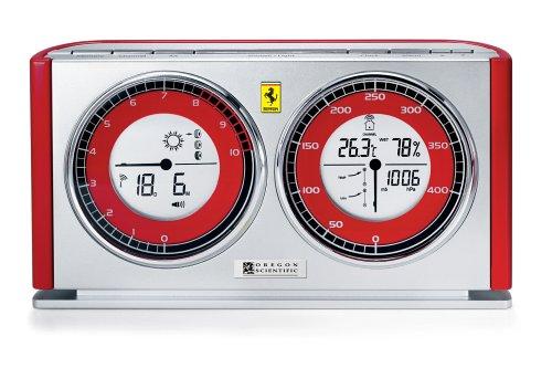 Oregon Scientific 0682 FERRARI FSW 301 R-OS Funkwetterstation Speedometer Line