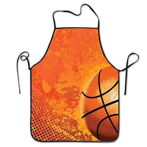 Not Applicable Basketball3 Schürzen für Frauen und Männer, Küchenchef Schürze, verstellbare Latzschürze zum Kochen, Servieren - 20,4 'X 28,3'