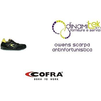 Negro Cofra zapatos de seguridad foto acabado 19030-000 New grevinga S3 zapatos de colour negro 19030-000