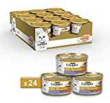 Gourmet Gold Pâté pour Le Chat, avec Agneau et Canard, 85g–Lot de...